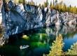 Увидите Рускеальский каньон